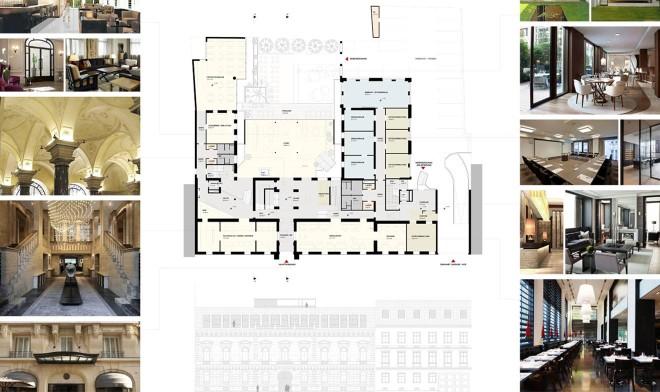 Entwurfsstudie Erdgeschoss