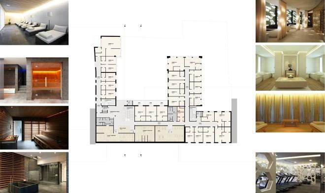 Entwurfsstudie 2.Obergeschoss