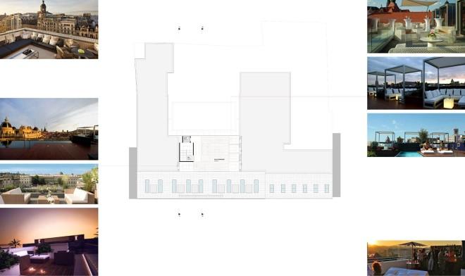 Entwurfsstudie Dachgeschoss
