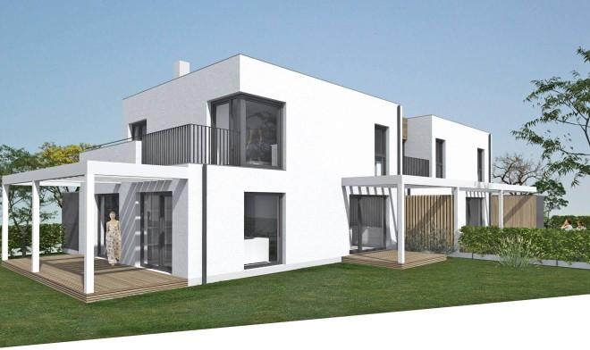 Gartenansicht Haus 2