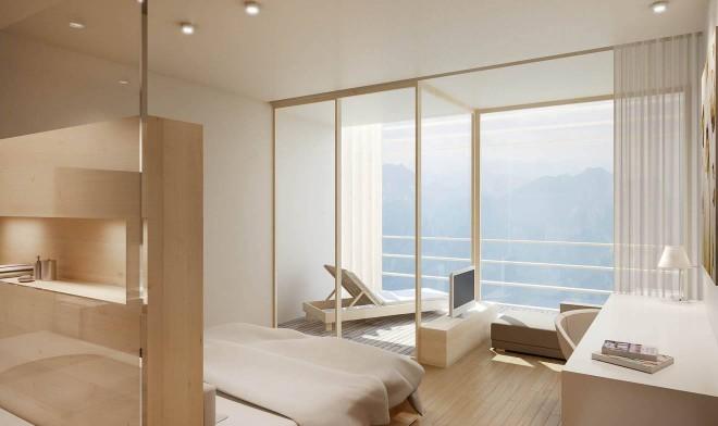 Hotelzimmer Loggia