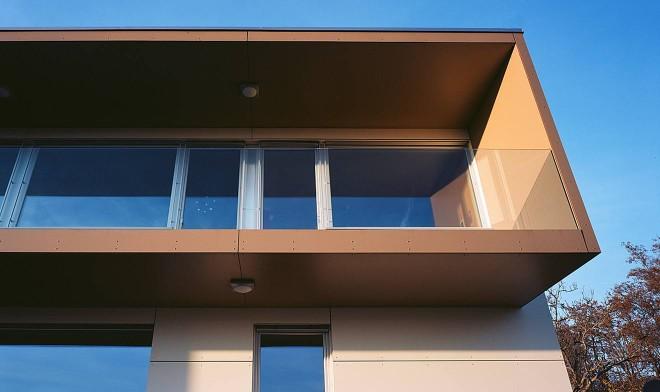 Rahmen im Obergeschoss