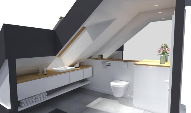 Badezimmer Variante